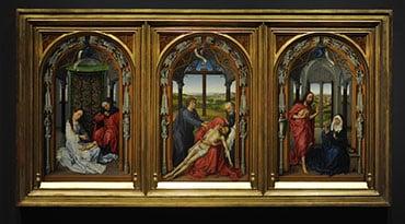 Un recorrido 'científico' por Van der Weyden