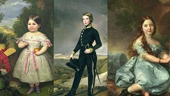 Los niños del Romanticismo español