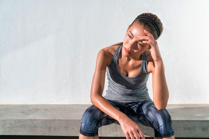 ¿Te duele la cabeza al hacer ejercicio?