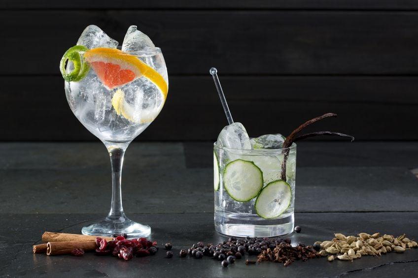 El clásico Gin Tonic