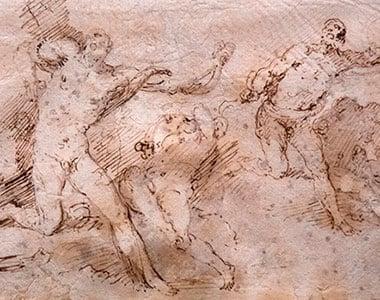 Trazos del dolor: Ribera dibujante