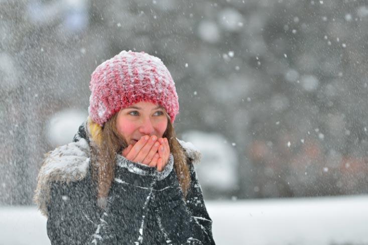 ¿Qué zonas de tu piel son más sensibles al frío?