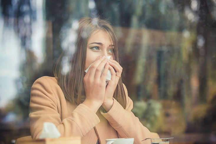 Por qué algunas alergias se intensifican en invierno