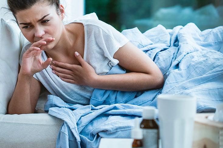 fiebre tos y dolor de espalda