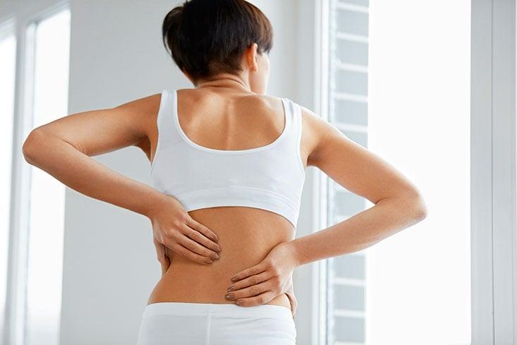 Como aliviar dolor de espalda muy fuerte