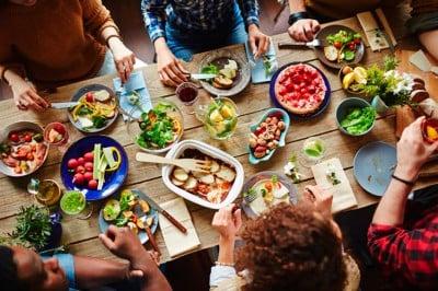 ¿Cuántas calorías tiene cada alimento?