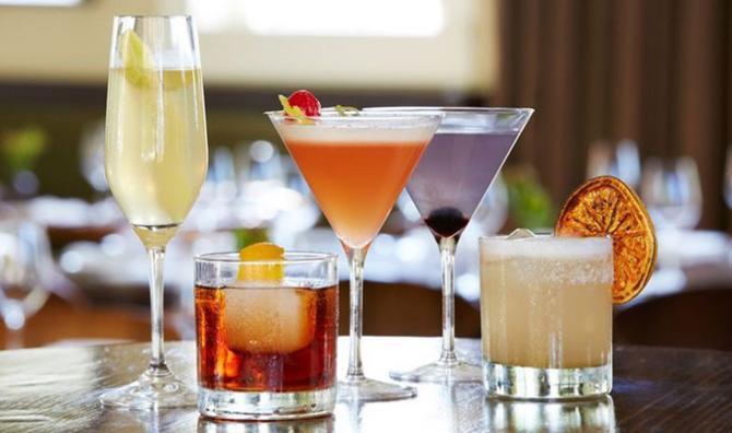 Vasos y copas para cada bebida