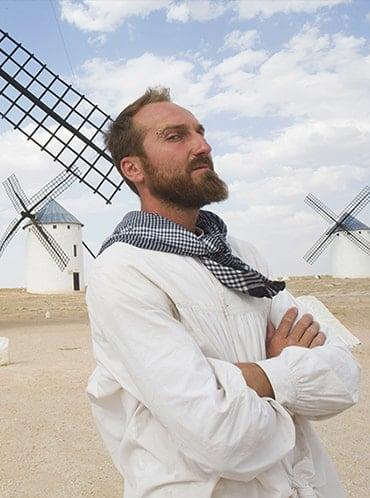El Quijote que revive molinos
