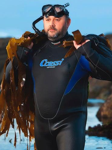 La cultura de las algas emerge desde Galicia