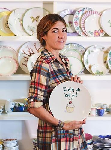 Un 'atelier' de porcelana para vestir las mejores mesas
