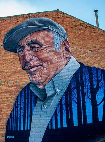 El pueblo que ha hecho rural el arte callejero de las grandes ciudades