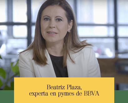 Beatriz Plaza, experta en pymes de BBVA