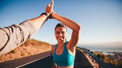 ¡Cómo no desanimarse el primer día que sales a correr!