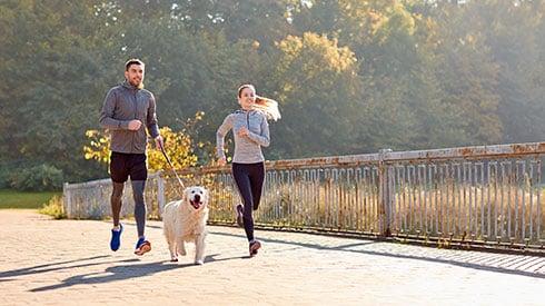 ¿Corres con tu mascota? Aquí unos consejos