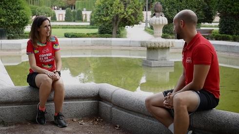 """""""Mi hijo es mi entrenador más duro"""": Así es Clara, otra de las valientes"""