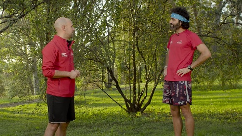 El nuevo reto de los seis valientes: correr para donar comida