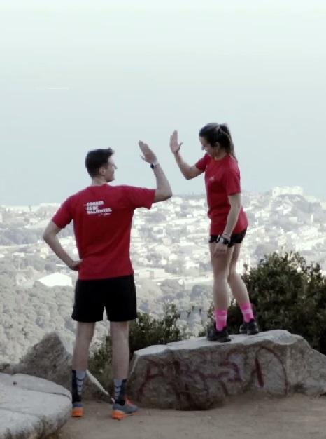 El ultra trail de Uri Sabat y Paula Bueno que asombra a Gonzalo Miró