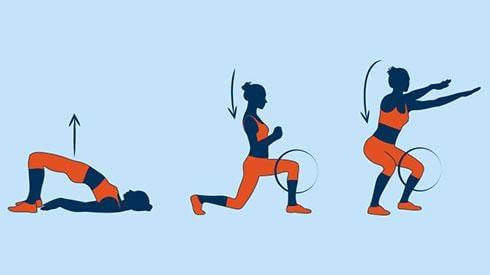 3 ejercicios para fortalecer las piernas