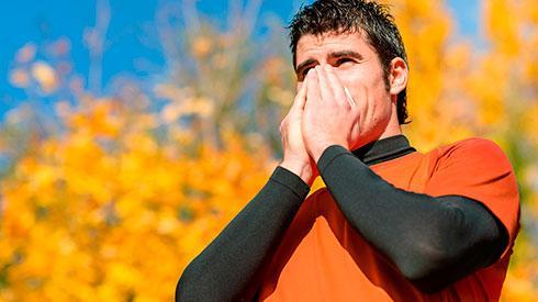 ¿Cómo afectan las alergias a los corredores?