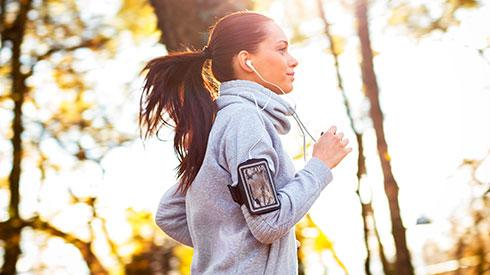 Running, estrés y depresión