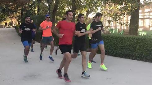 ¿Por qué es bueno correr en grupo?