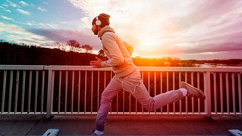 A ritmo de running