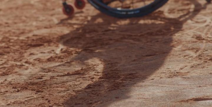 Un día con Dani Caverzaschi, la promesa española del tenis en silla de ruedas