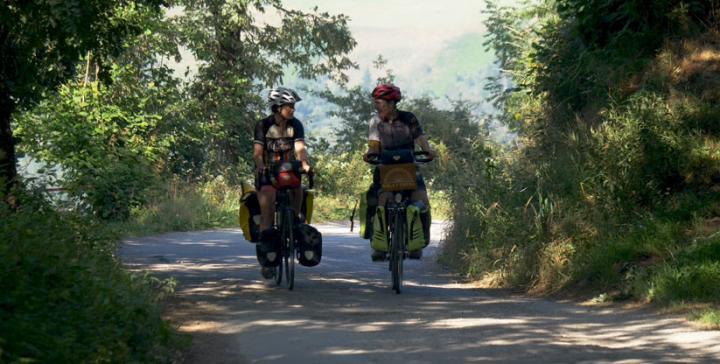 Una ruta en bici para dar visibilidad al mundo rural vivo