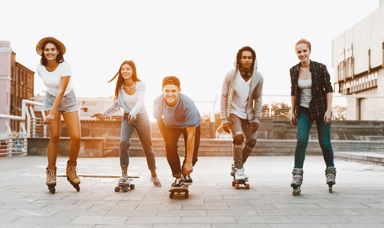 Los patines que cambian la vida a los barceloneses