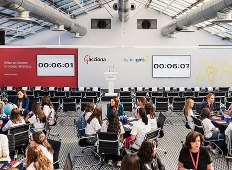 Inspiring girls: charlas de siete minutos para vislumbrar el futuro
