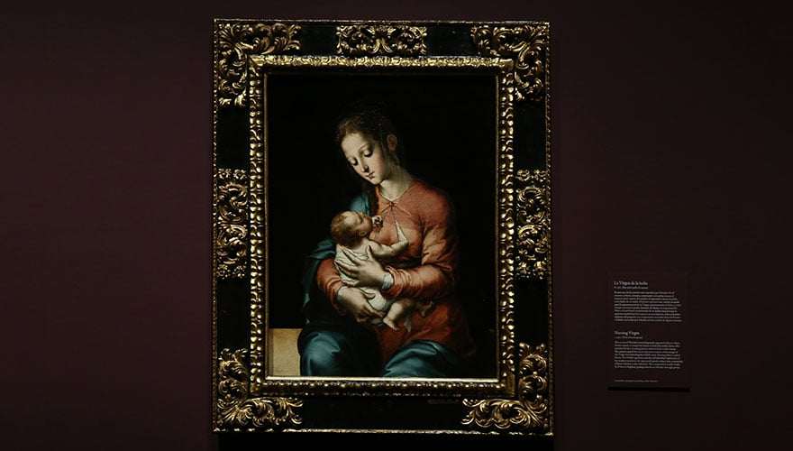 5531 : 1565 La Virgen de la leche