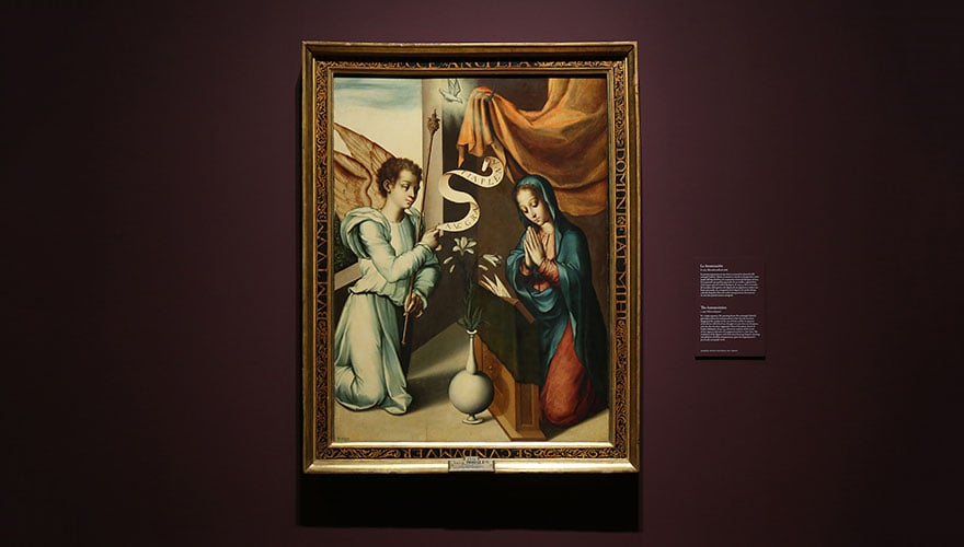 1565: La Anunciación
