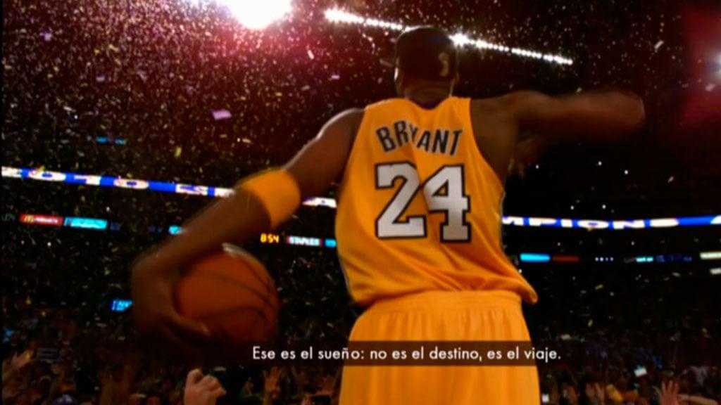 Vuelve Kobe Bryant