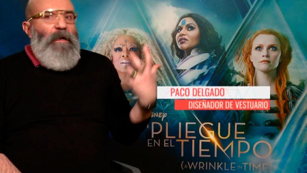 El diseñador de vestuario español de 'Un pliegue en el tiempo'