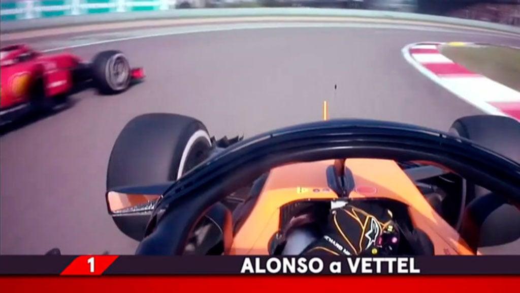 El mejor adelantamiento de Fernando Alonso