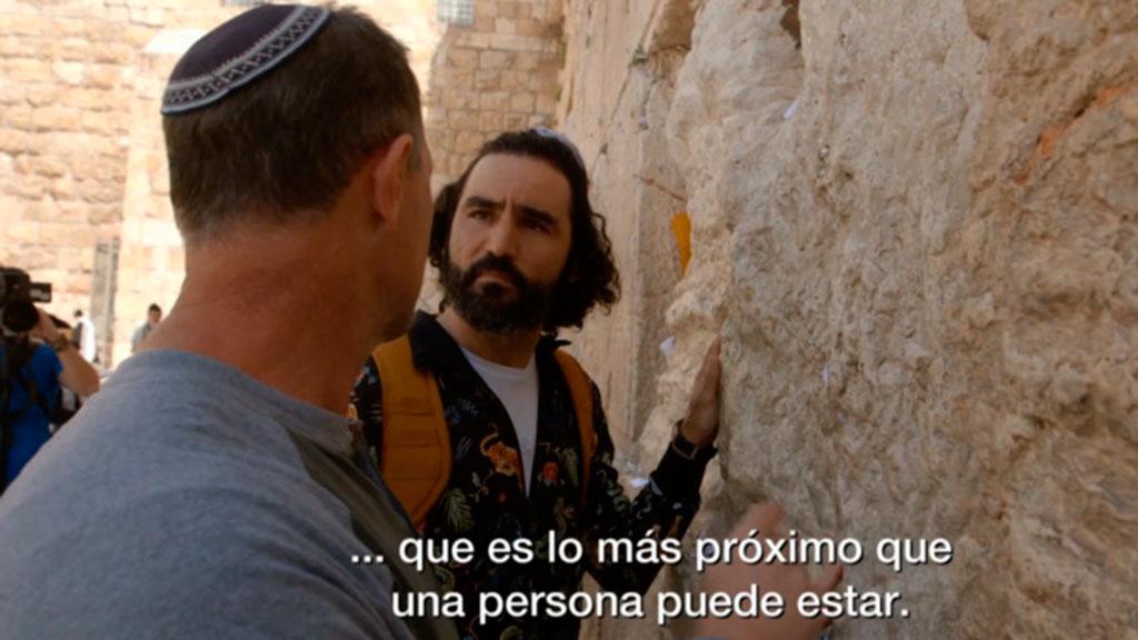 Maraton Man visita el Muro de las Lamentaciones