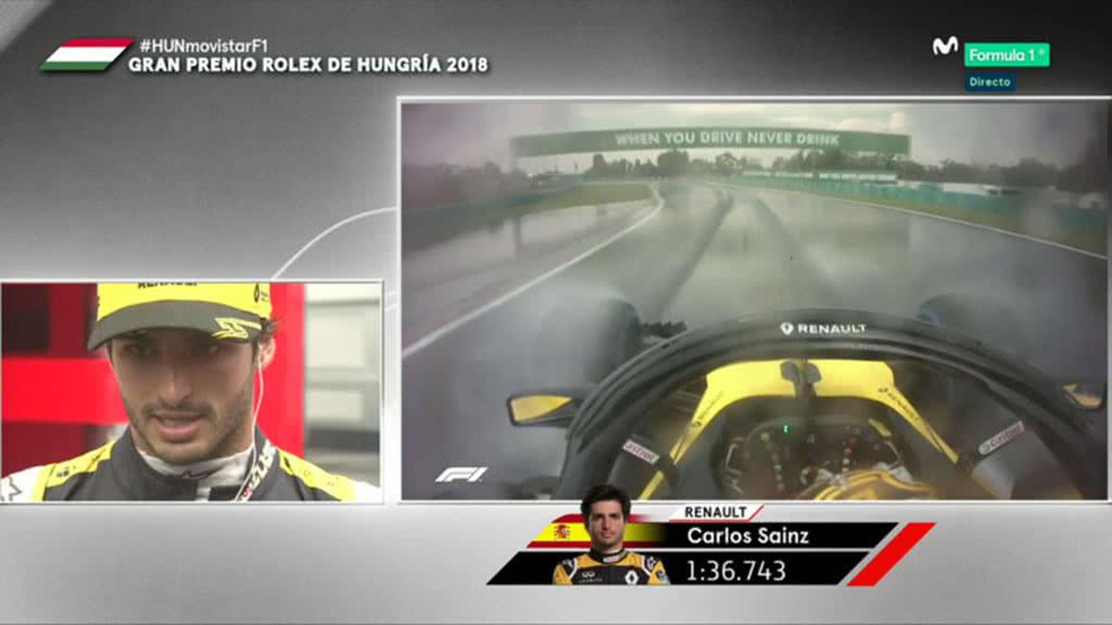 Carlos Sainz comenta su gran vuelta