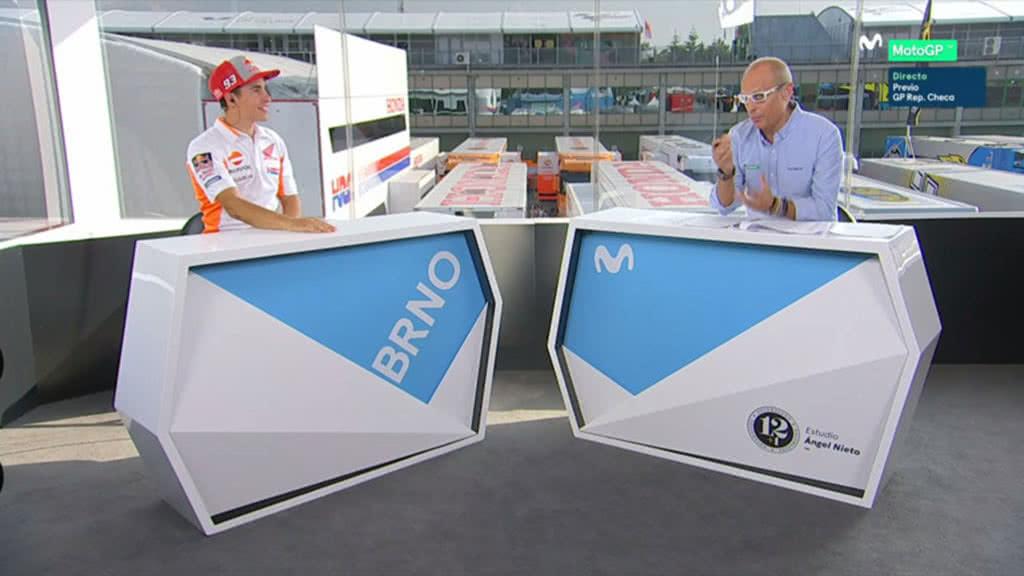 """Márquez: """"Honda debe mejorar el tren delantero"""""""