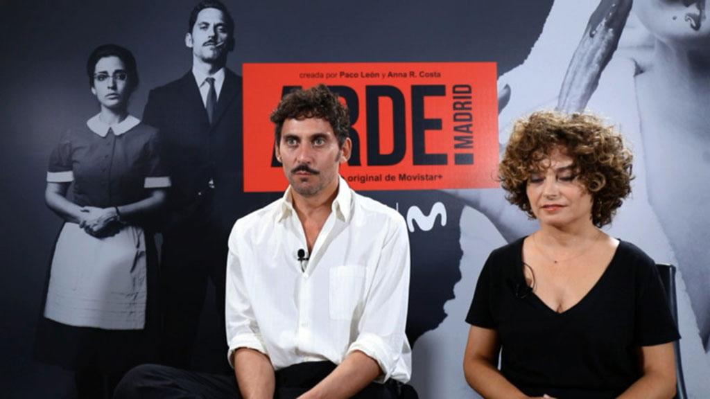 Las faldas se acortan en 'Arde Madrid'