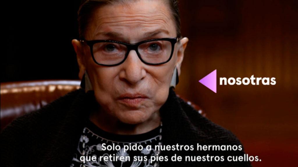 La jueza 'RGB', icono del feminismo