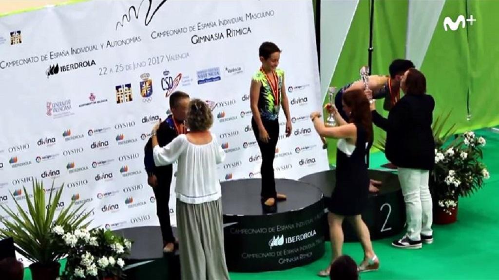 Eneko Lambea, ejemplo de superación en un deporte mayoritariamente femenino