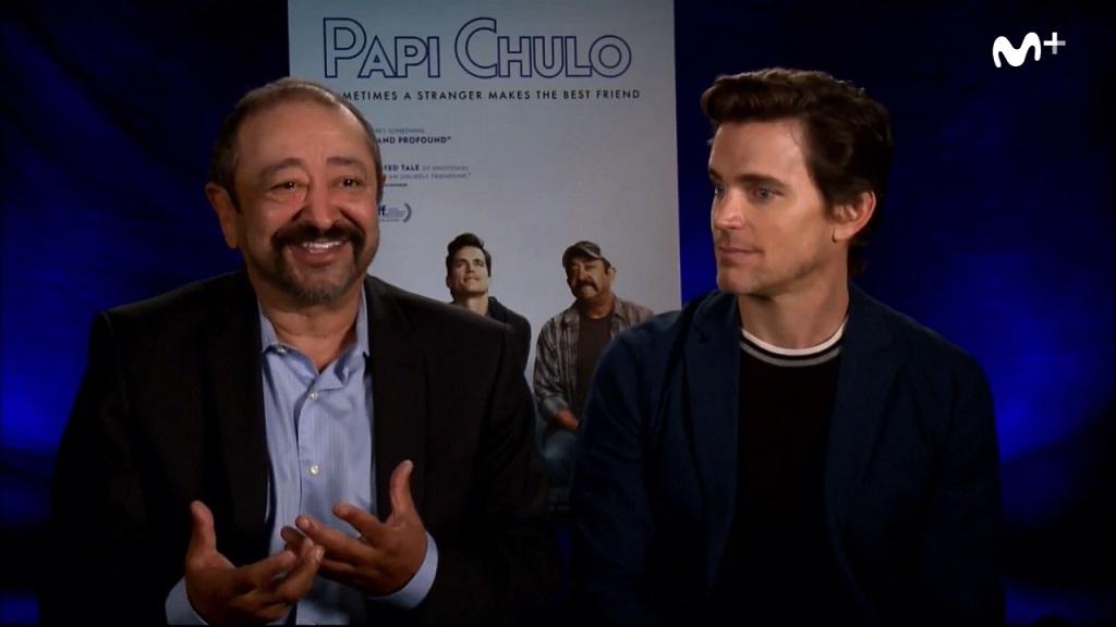 """Entrevista a los protagonistas de """"Papi Chulo"""""""