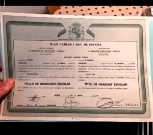 Berto Romero aún no tenía el graduado escolar