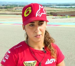 María Herrera: fuerza, superación y gasolina en vena