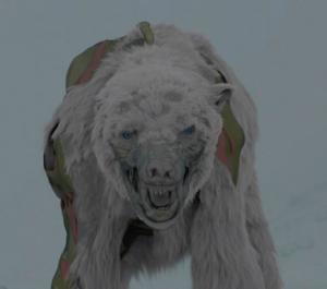 El oso polar zombi de 'Juego de Tronos'