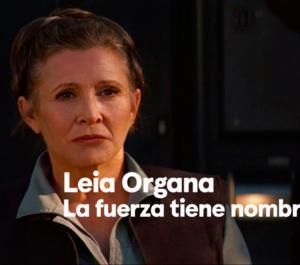 Un homenaje a la Princesa Leia
