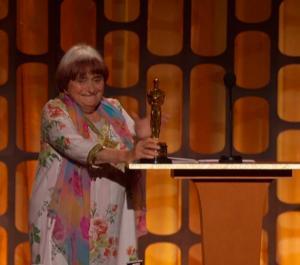 El Oscar honorífico a Agnès Varda