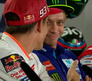 Así le negó Rossi la paz a Márquez
