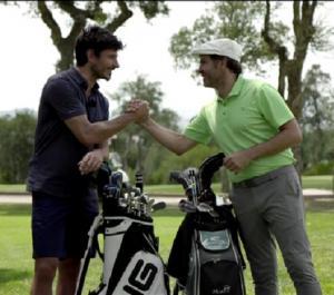 Andrés Velencoso es un 'golferas'