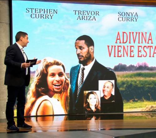 'Adivina quién viene esta noche': Stephen Curry